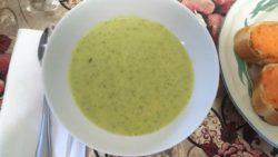 Broccoli Cheese Mashed Potato Soup