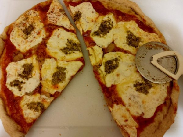 Whole Wheat Now And Then Pizza